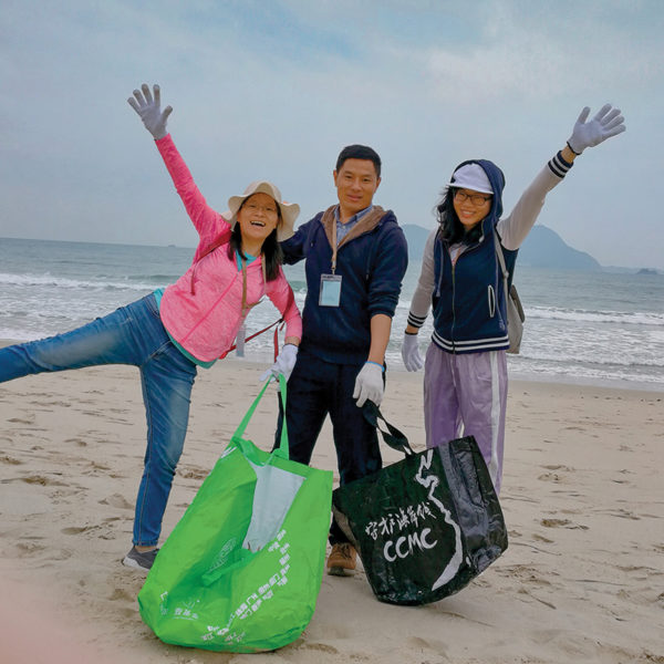 Hong Kong Beach Cleanup