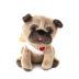 Cupid Pug Stuffed Animal