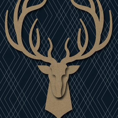 Hallmark Signature - Deer Father's Day Card