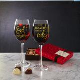 Wine Glasses and Chocolates