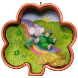 Cookie Cutter Mouse Leprechaun Ornament