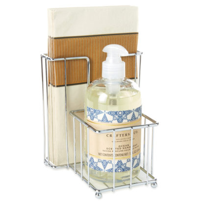 Soap and Guest Towel Caddy Set