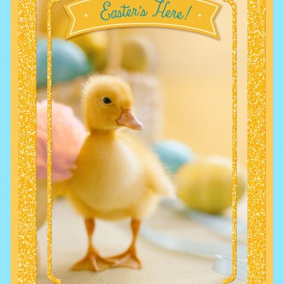 Happy-Go-Ducky Day Easter Card