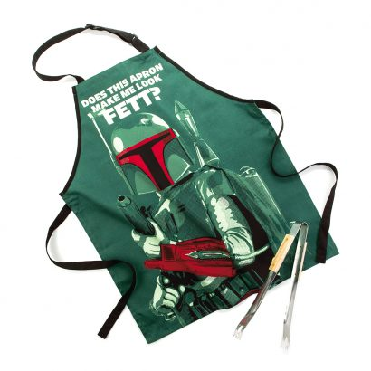 Boba Fett™ Apron and Tong Set