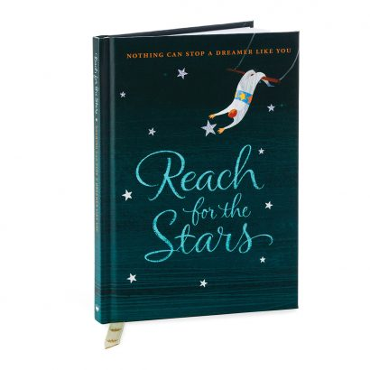 """Reach for the Stars: Nothing Can Stop a Dreamer Like You"" Hallmark Gift Book"