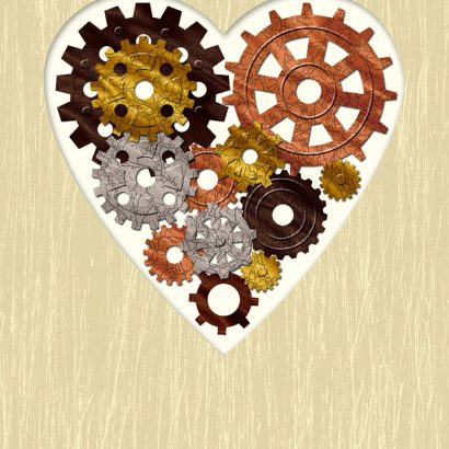 Hallmark Signature - Heart Gears Father's Day Card