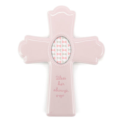 Pink Photo Cross Frame