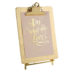 Gold Clipboard Picture Frame