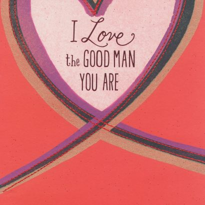 Good Man Valentine's Day Card