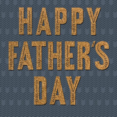 Hallmark Signature - Happy Father's Day Card