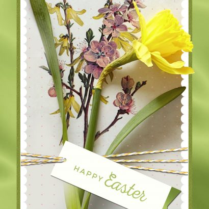Daffodil Bouquet Easter Card