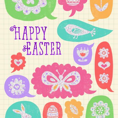 Loving Thoughts Easter Card