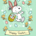 Happy Easter Snoopy Easter Card