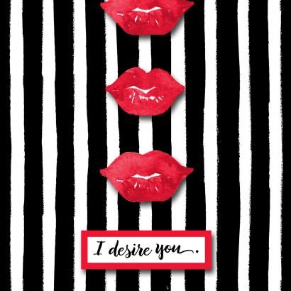 Jill Scott I Desire You Valentine's Day Card