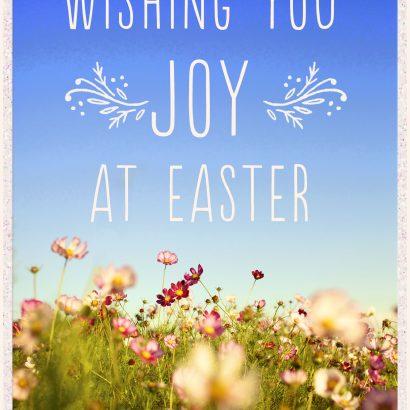 Joy at Easter Card