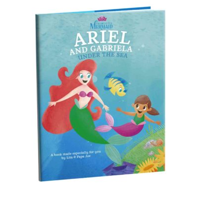 The Little Mermaid Personalized Book