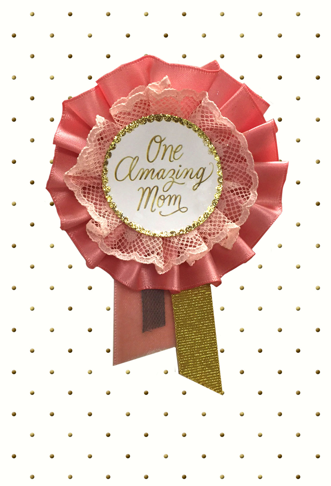 Signature – One Amazing Mom Mother's Day Card