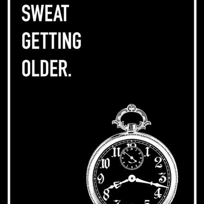 Don't Sweat Shoebox Card