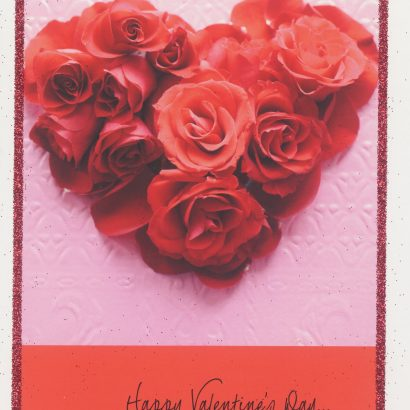 Full of Love Valentine's Day Card