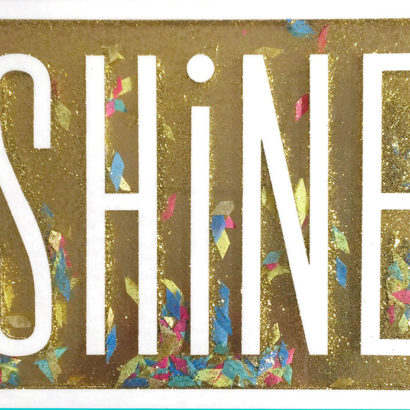 Hallmark Signature - Shine Graduation Card