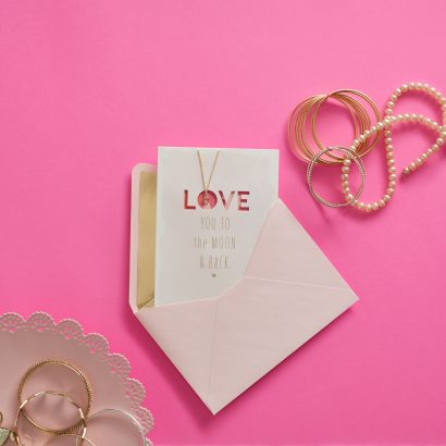 Signature - Love You to the Moon Mother's Day Card