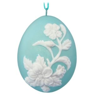 Signs of Spring Flowers Easter Ornament