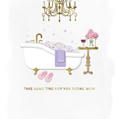 Signature - Take Some Time for You Mother's Day Card