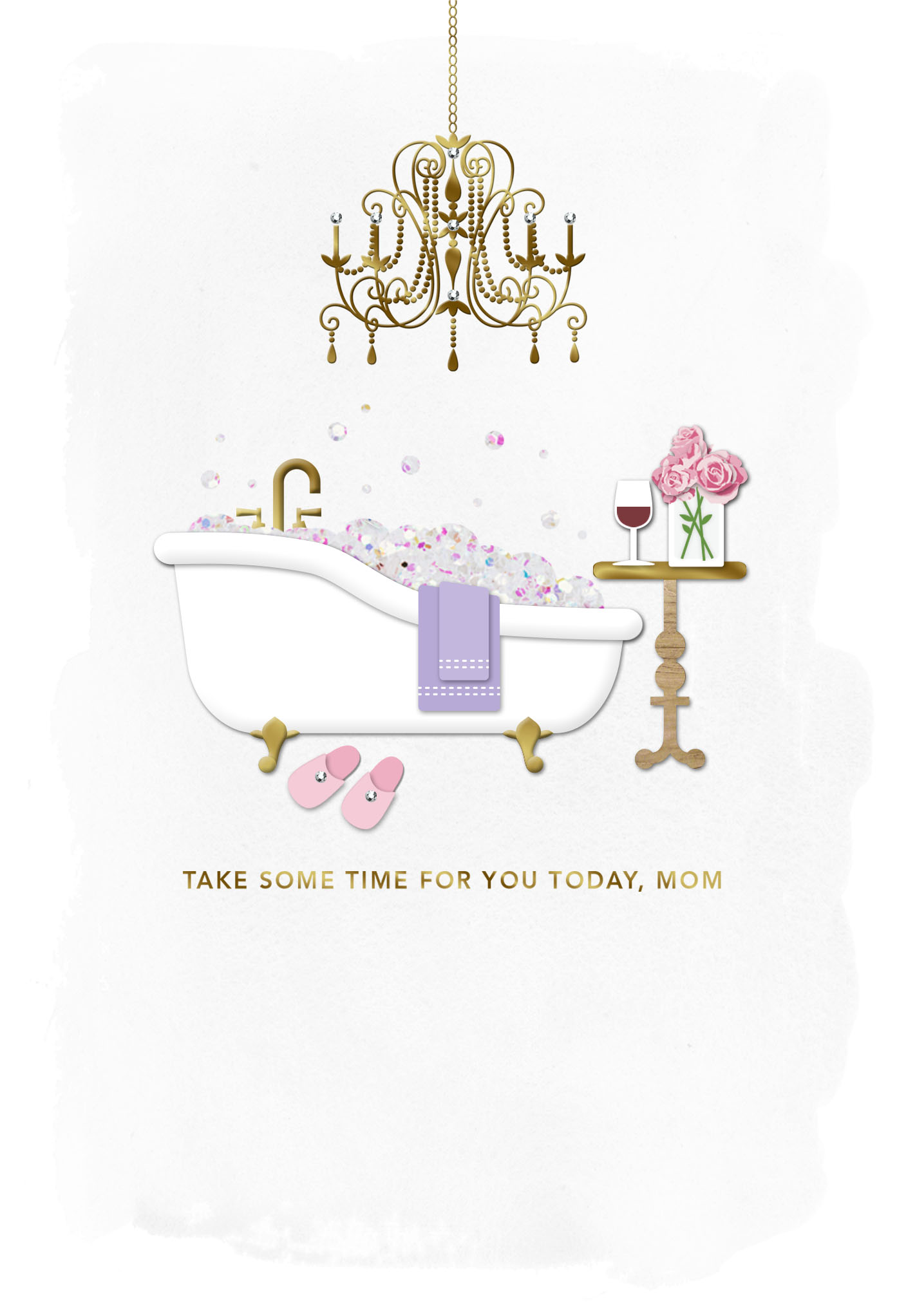 Signature – Take Some Time for You Mother's Day Card