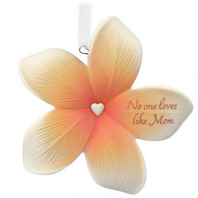 Thank You Mom Flower Ornament