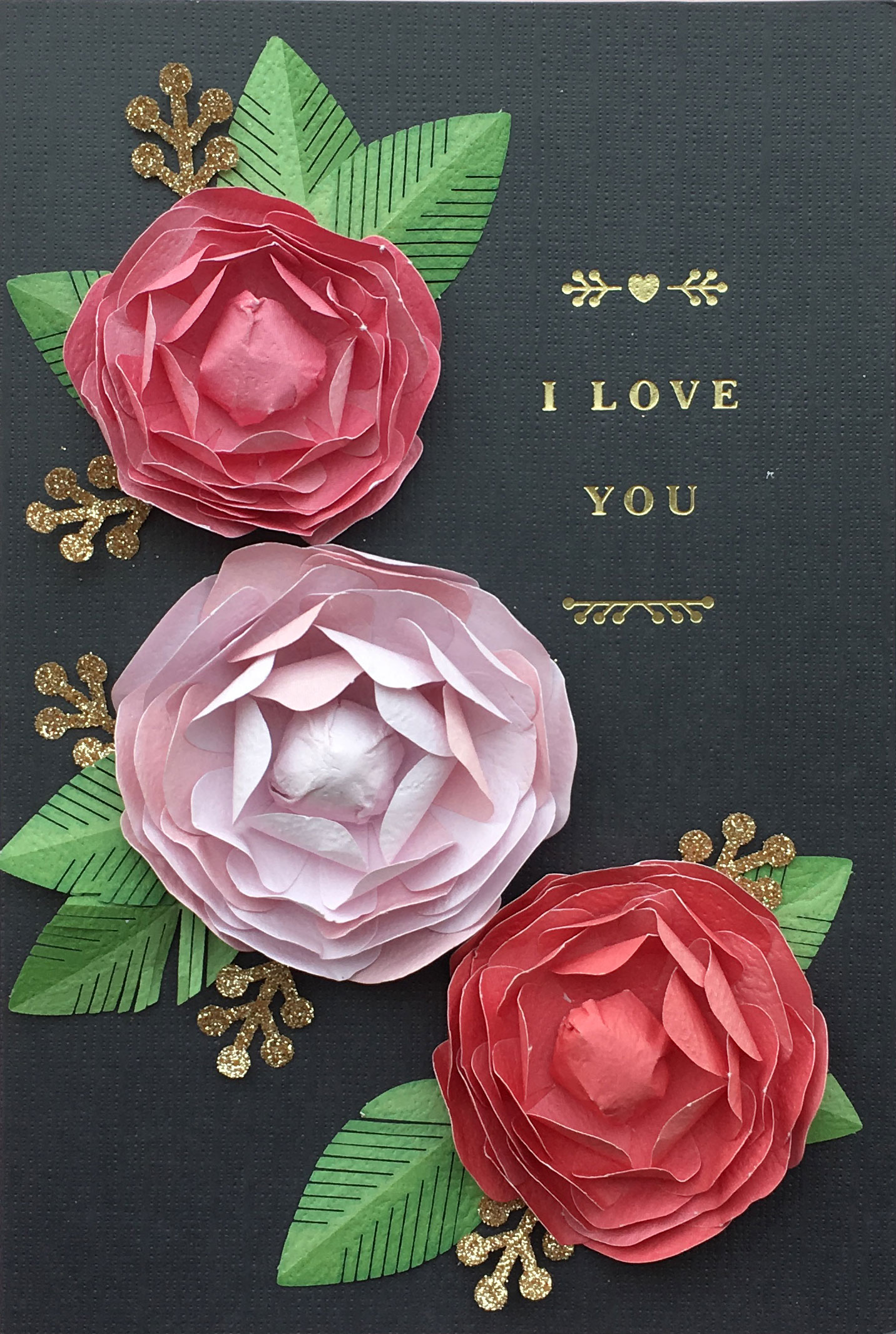 Valentine's Day Card-Roses