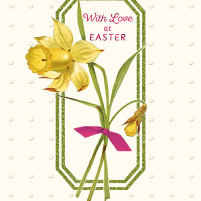With Love at Easter Card