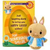 Itty Bittys Peter Rabbit Easter Card With Stuffed Animal