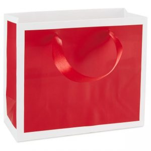Scarlet Red Small Gift Bag