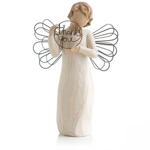 Willow Tree Angel Just For You Thank You Figurine