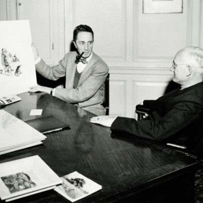 Norman Rockwell and JC Hall