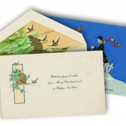 Hallmark Gift Wrap - 1917 Envelope Liners