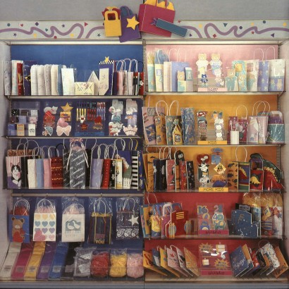 Hallmark Gift Wrap - 1987 Gift Bag Fixture