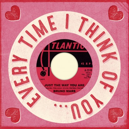 More to Love Valentine's Day Card with Vinyl Record