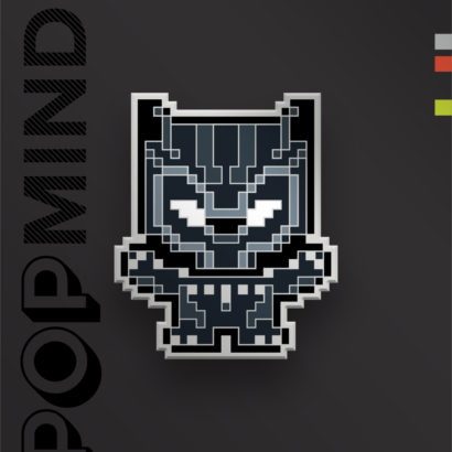 Marvel Black Panther Enamel Pin