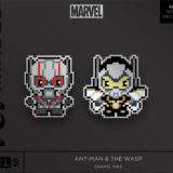Marvel Ant-Man & The Wasp Enamel Pins