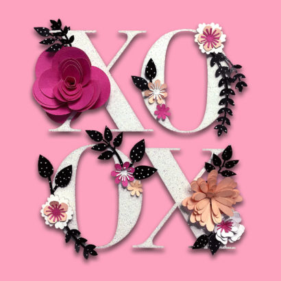 Hallmark Signature XOXO Valentine's Day Card