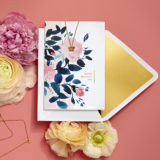 Greetings - Signature Card - Butterfly Necklace + Out