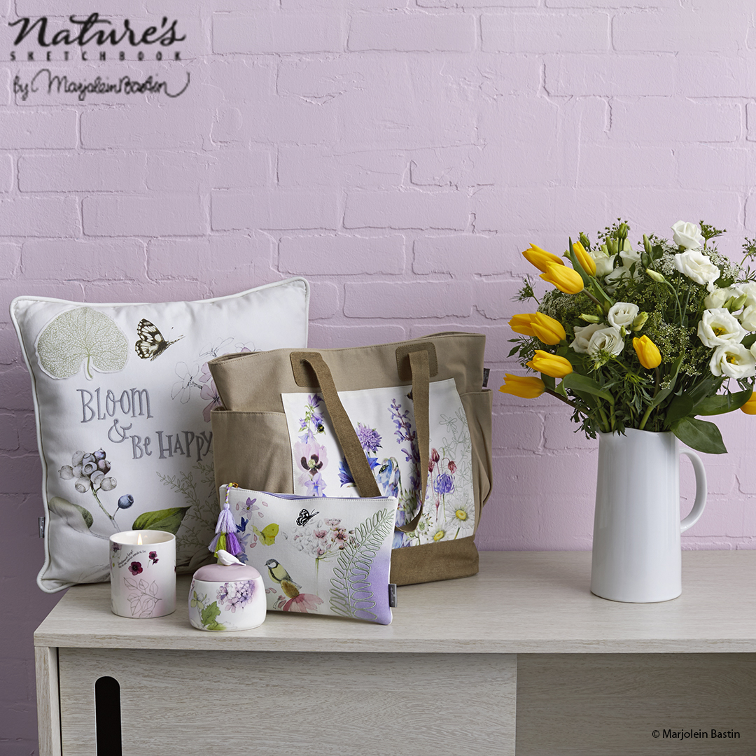 Marjolein Bastin Bloom Pillow APPROVED