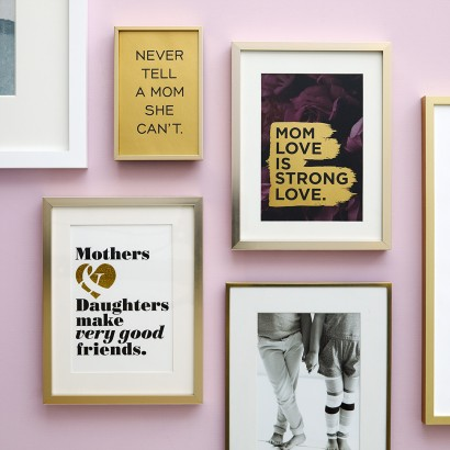 Stylish Statements - Gallery Wall Mom Square