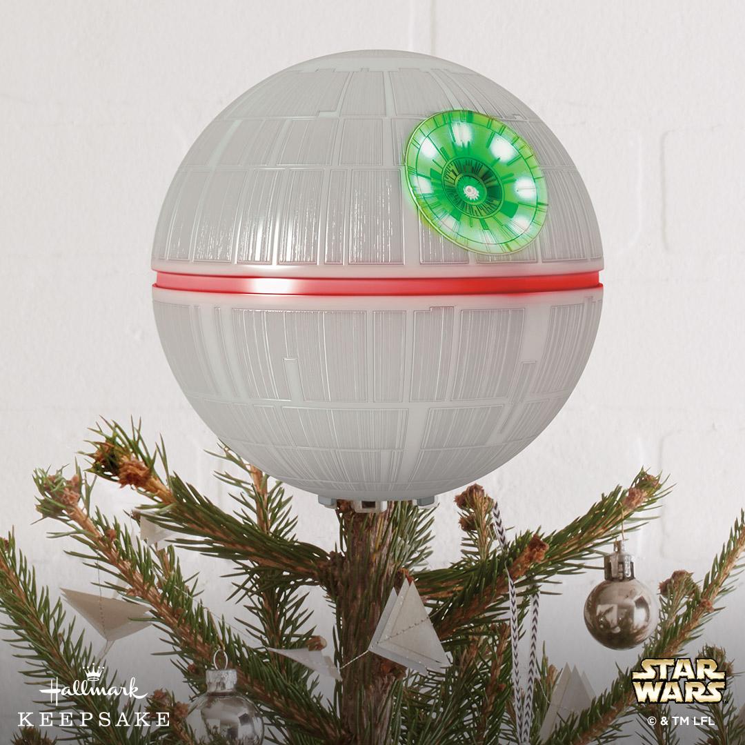Star Wars Death Star Tree Topper