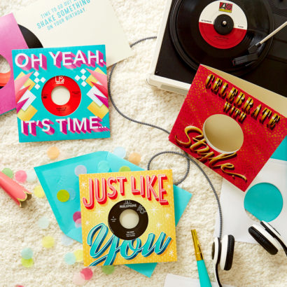 Vinyl Birthday Cards