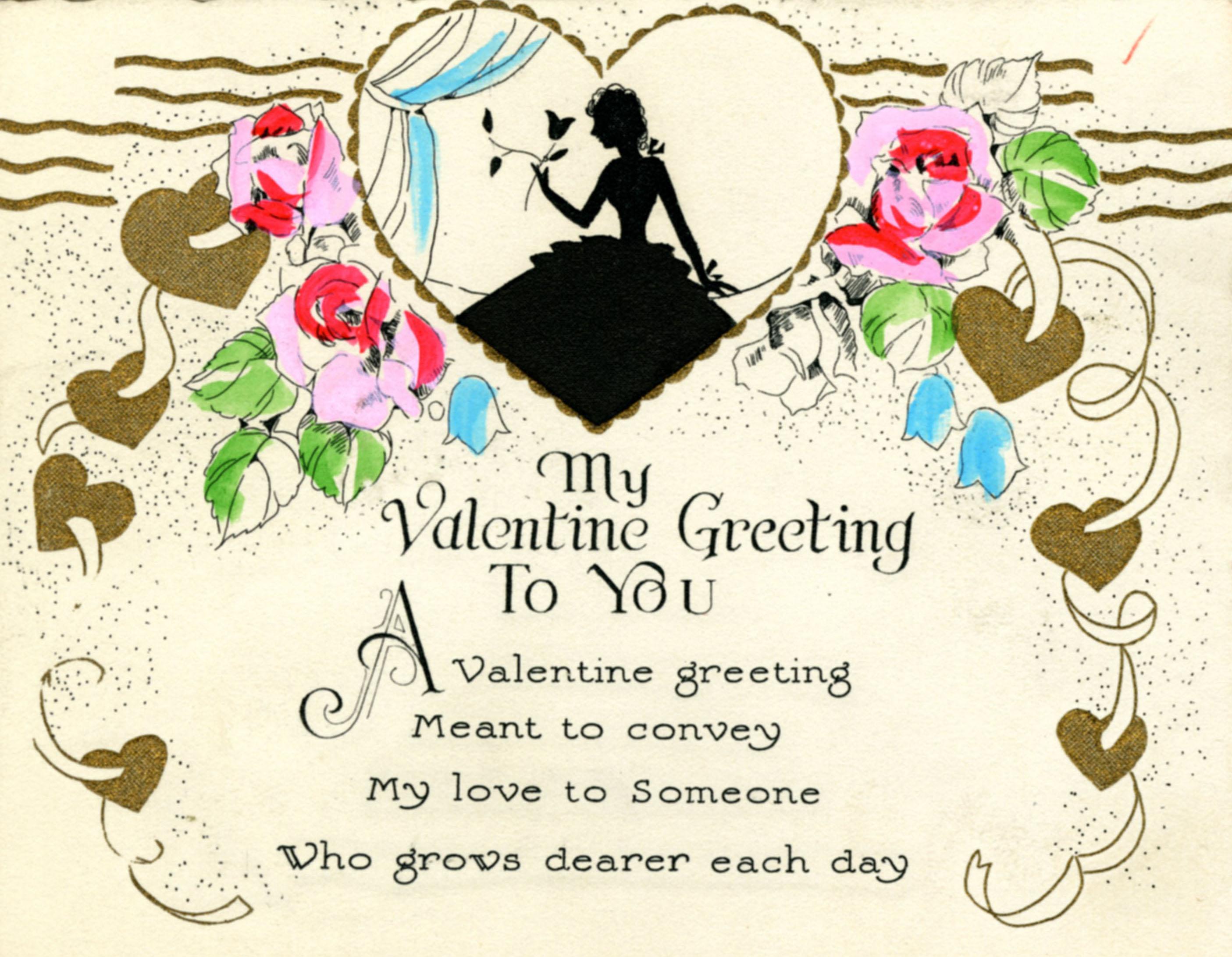 Undated Valentine's Day Card