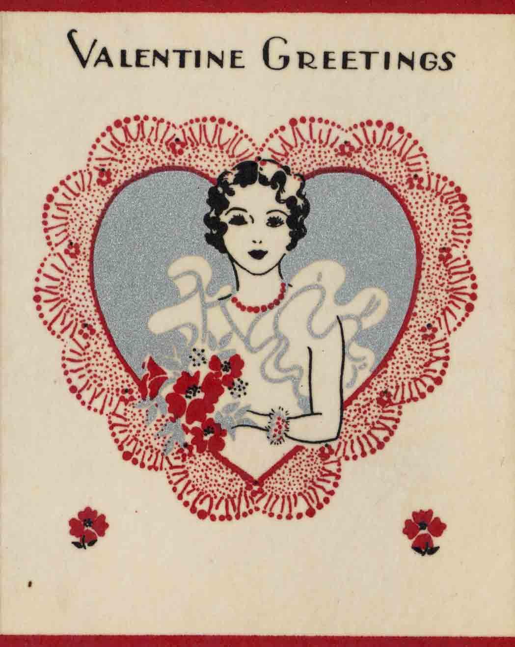 1933 Valentine's Day Card
