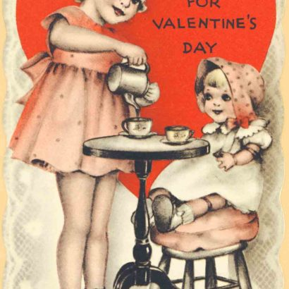 1939 Valentine's Day Card