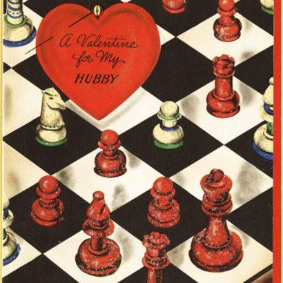 1942 Valentine's Day Card